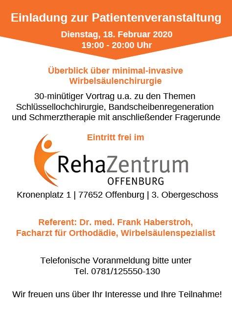 Einladung-Vortrag-minimal-invasive-Wirbelsäulenchirurgie