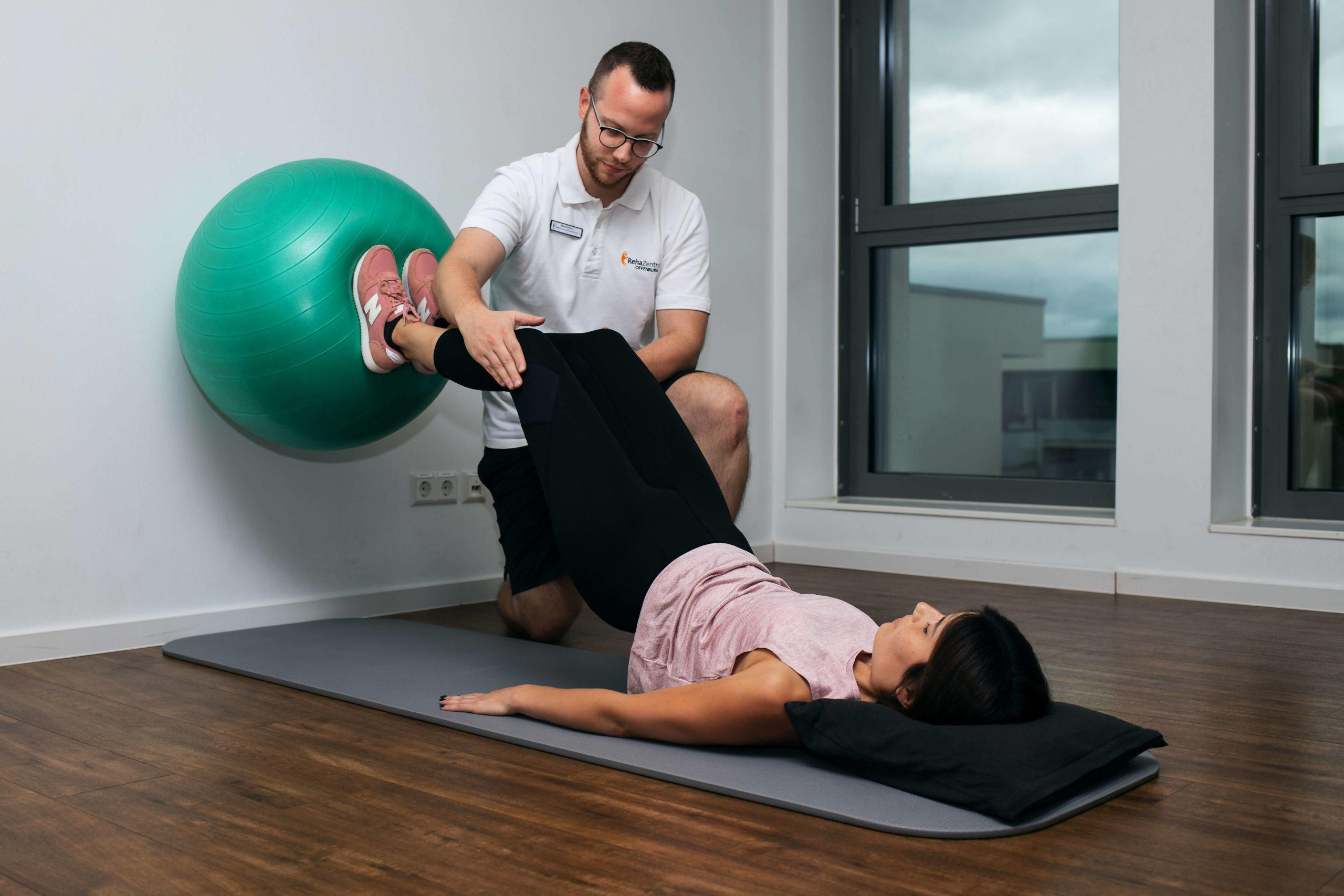 Physiotherapie im RehaZentrum Offenburg