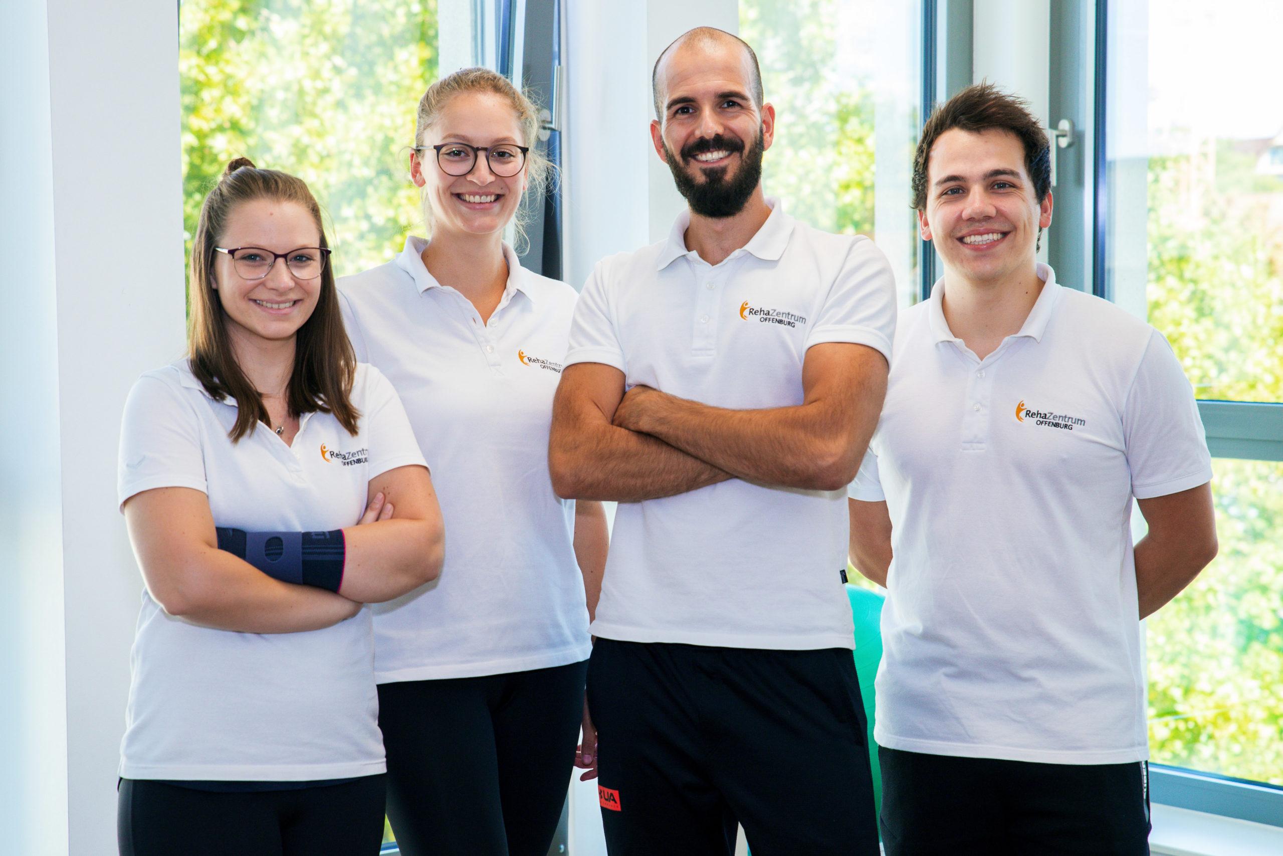 Team für Rehasport im RehaZentrum Offenburg