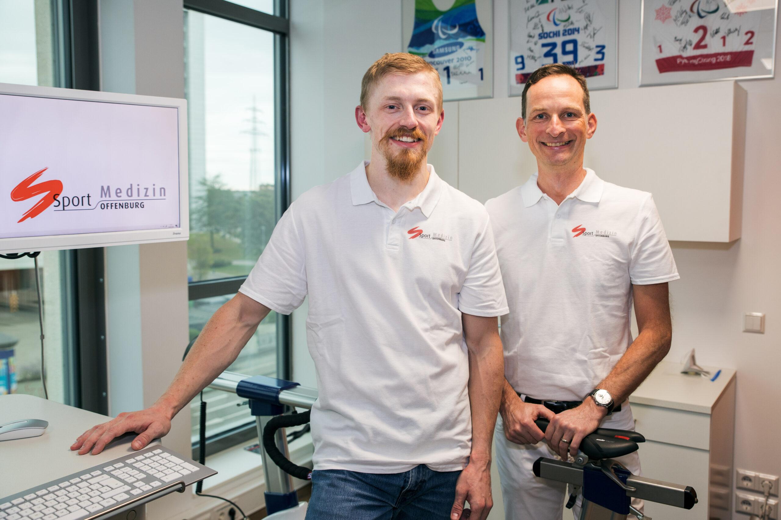 Dr. Lars Meiworm und Carl-Maximilian Wagner