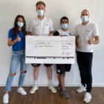 Spendenaktion RehaZentrum Offenburg und SC Sand